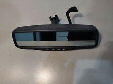 2007-2012 GMC Acadia Rear View Mirror 25794381 OEM