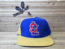 Vintage 90s Sports Specialties St. Louis Blues NHL Snapback Hat Center Ice