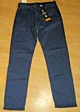 BURTON MID BLUE, SLIM FIT CARGO PANTS SIZE 32 W 32 L, BNWT