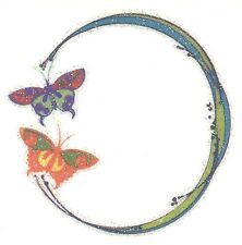 Belly Button BUTTERFLY Temporary Tattoo GLITTER