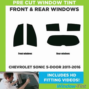 Pre Cut Window Tint - Chevrolet Sonic 5-door 2011-2016 - Full (Front & Rear)