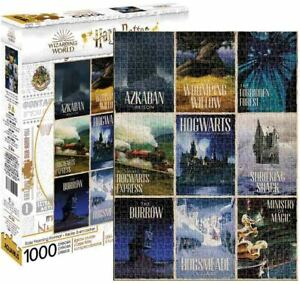 1000 piece HARRY POTTER 'Travel Posters' Jigsaw Puzzle Licensed J K Rowling