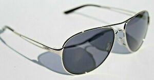 OAKLEY Caveat Sunglasses Womens Polished Chrome/Grey NEW OO4054-02 Aviator