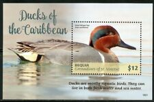 ST. VINCENT GRENADINES BEQUIA  2018  DUCKS OF THE CARIBBEAN  S/SHEET MINT NH