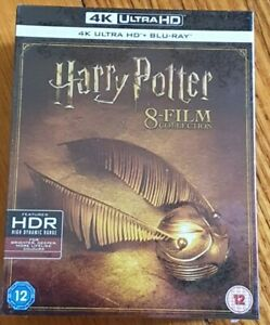 HARRY POTTER Complete 8 Movie Collection | 16 DISC Boxset | 4K + BLURAY | SEALED