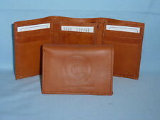 CHICAGO CUBS   Leather TriFold Wallet    NEW    brown 3  m1
