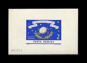 Romania, Sc #C160a, MNH,1964, S/S, Space exploration, TID-A