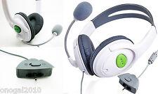 Auriculares Estereo Headphone Cascos con Microfono para la Consola XBox 360 4061