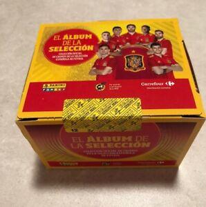 PANINI- COMPLETE BOX ALBUM SPAIN SELECCION EUROCOPA 2021 EURO CUP