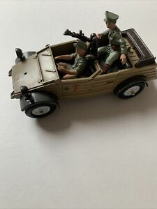 Britains german kubelwagen ww2 1970s Used Missing Parts 1970's Toy