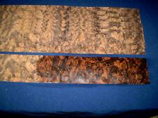 Nussbaum Maser Furnier Wurzelholz    570 x 90 mm   8 Blatt      Nr. 103