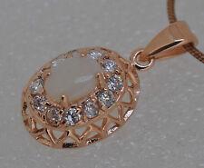 Echte Edelstein-Halsketten & -Anhänger mit Opal und Cabochon für Damen