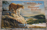 LEANIN TREE Wildlife Art Hautman Brothers #90741~20 GREETING CARDS~20 Designs