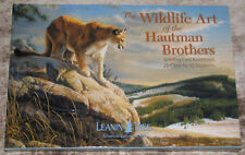 LEANIN TREE Wildlife Art Hautman Brothers #90741~20 GREETING CARDS~20 Designs