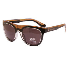Diesel 55DSL - Black & Gold Mike Hawk Classic Retro Style Sunglasses with Case