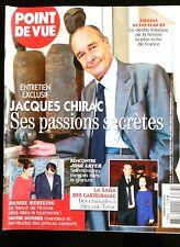Point de Vue 17/6/2009; Entretien Jacques Chirac/ Liliane Bettencourt/ José Arth