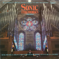 Sonic Fireworks V2 - Richard Morris/Atlanta Brass Ens - D-to-D Pipe Organ LP