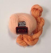 Anny Blatt French Angora & Silk Ribbon Yarn Peach