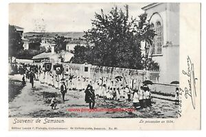 Turkey / Samsoun (Samsun) Greek Procession en 1904, RARE