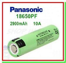Batteria Pila Litio Ricaricabile PANASONIC NCR18650PF 2900mAh Flat Pole