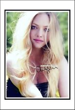 Amanda Seyfried, Autographed, Cotton Canvas Image. Limited Edition (AS-507)
