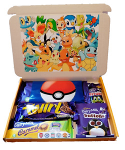 Disney Pokemon Cadbury Chocolate Selection Box Personalised, Stocking Filler