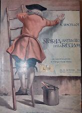 Pubblicità - Lancellotti: Storia aneddotica della Reclame 1912 Quintieri illust.