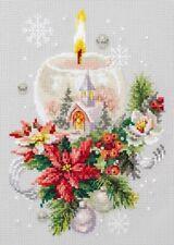 Counted Cross Stitch Kit MAGIC NEEDLE 100-231 - Christmas candle