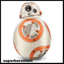 """STAR WARS: THE FORCE AWAKENS BB-8 DROID Disney Store AUTHENTIC PLUSH 7"""" 18CM NEW"""