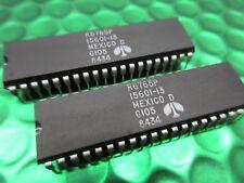 2 X R6765P 40-Pin DIP IC Rockwell doble densidad Floppy Controller Nuevo Parte