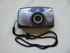 Vintage Pentax Espio 115S 35 mm cámara de cine y el caso