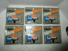 NOS Gillette Atra Plus Shaving Razors, 36 Razor Blades
