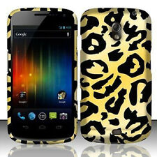 For Samsung Galaxy Nexus Rubberized HARD Protector Case Phone Cover Cheetah