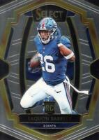 2018 Panini Select Silver Prizm #105 Saquon Barkley NY Giants Premier Level NM-M