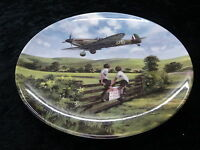 Royal Doulton Collectors Plate - Heroes of the Sky - Spitfire Coming Home