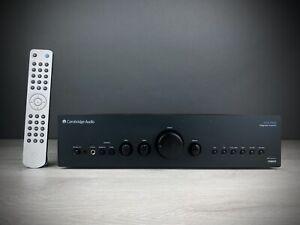 Cambridge Audio Azur 640A V2 Integrated Amplifier In Black Finish. 99p NR