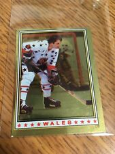 TOPPS HOCKEY 1982 BILL BARBER NHL ALL STAR FOIL STICKER 170 FLYERS EXCELLENT