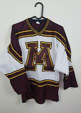 Vintage Retro Urbano RENEWAL Deportes Atléticos Top Camisa de jersey de hockey sobre hielo en muy buena condición Reino Unido M