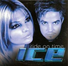 ICE - ride on time CDS!! eurodance 2003 NORWAY RARE!!