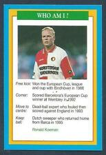 A QUESTION OF SPORT-1996-SOCCER-FEYENOORD-BARCELONA & HOLLAND-PSV-RONALD KOEMAN