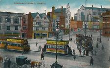 BRISTOL Tramways Centre vintage PPC