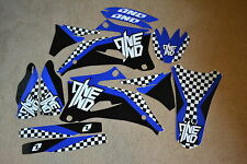 ONE IND.  CHECKERS  GRAPHICS YAMAHA YZ250F YZ450F YZF250 YZF450 YZF  06 07 08 09