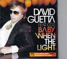David Guetta- Baby When the light cd single incl videoclip sealed