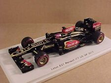 Spark #S3071 1/43 Resin Lotus E21 Renault, 2013 US GP, Clear, #7, H. Kovalainen