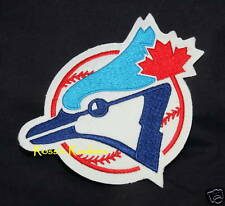 "TORONTO BLUE JAYS round MLB PATCH 6 1/4"" x 5"""