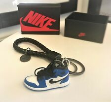 3D MINI SNEAKER GAME ROYAL AIR JORDAN 1 KEYCHAIN