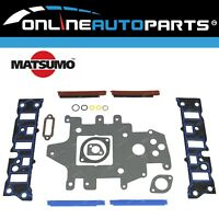 Inlet Intake Manifold Gasket Set Holden VS VT VX VY V6 3.8L Supercharged Engine