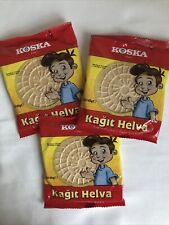 Plaquette Halva-Turc Traditionnel Kagit helva par Koska 45 G X3-waffel Halva