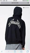 FOG Fear Of God x Pacsun Metallica Hoodie Size M New