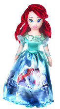 "NEW OFFICIAL 10"" BOXED DISNEY PRINCESS ARIEL SOFT PLUSH TOY LITTLE MERMAID"